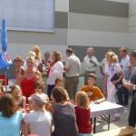 Feierliche Eröffnung Turnhalle Traberallee