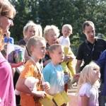 Spannung am Glücksrad - Stadtteilfest 2014