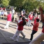 Mit-Mach-Aktion AWO-Line Dancer - Stadtteilfest 2014