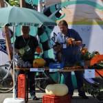 Die Arche N mit Gemüse aus eigenem Anbau - Stadtteilfest 2015