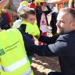 Kinder-Baustellenparty-Sicherheit ist wichtig